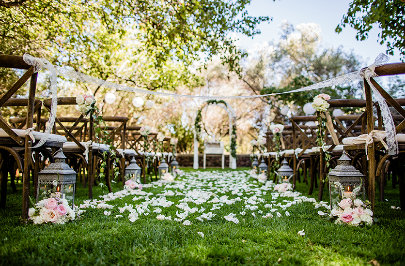 Rustic Chic Wedding At The Rengstorff House Event Solutions