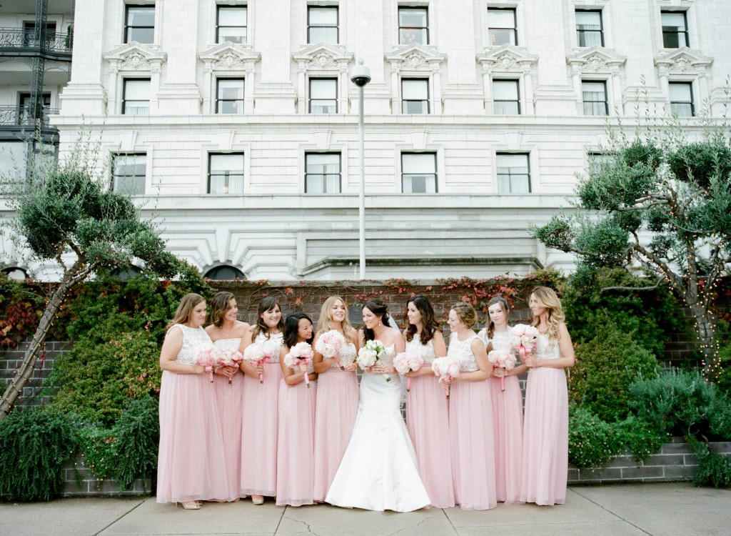 San Francisco Fairmont Hotel Wedding